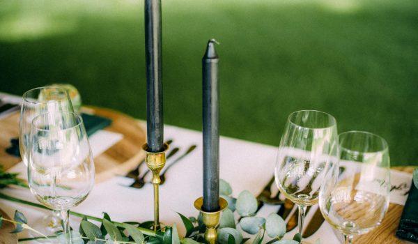 tafeldecoratie bruiloft - wij gaan trouwen
