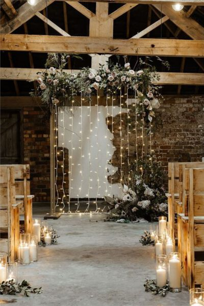 Trouwen in de winter - winter ceremonie